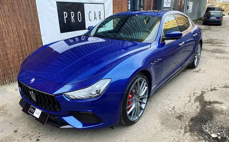 Maserati Ghibli – zabezpieczenie folii ochronnych dedykowaną powłoką ceramiczną