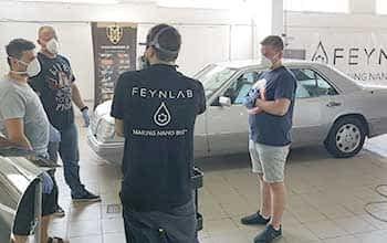 Certyfikat instalatora powłok ochronnych  FEYNLAB