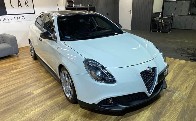 Alfa Romeo Giulietta Quadrifoglio – serwis powłoki ceramicznej