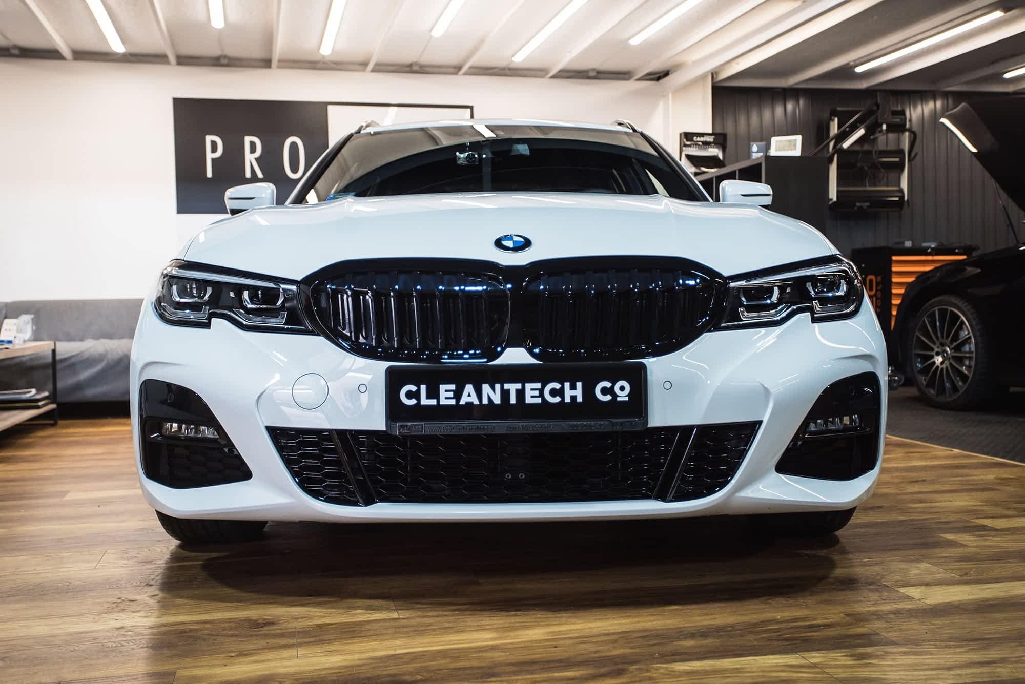 BMW 330i- korekta lakieru Level 2 + powłoka ceramiczna 1
