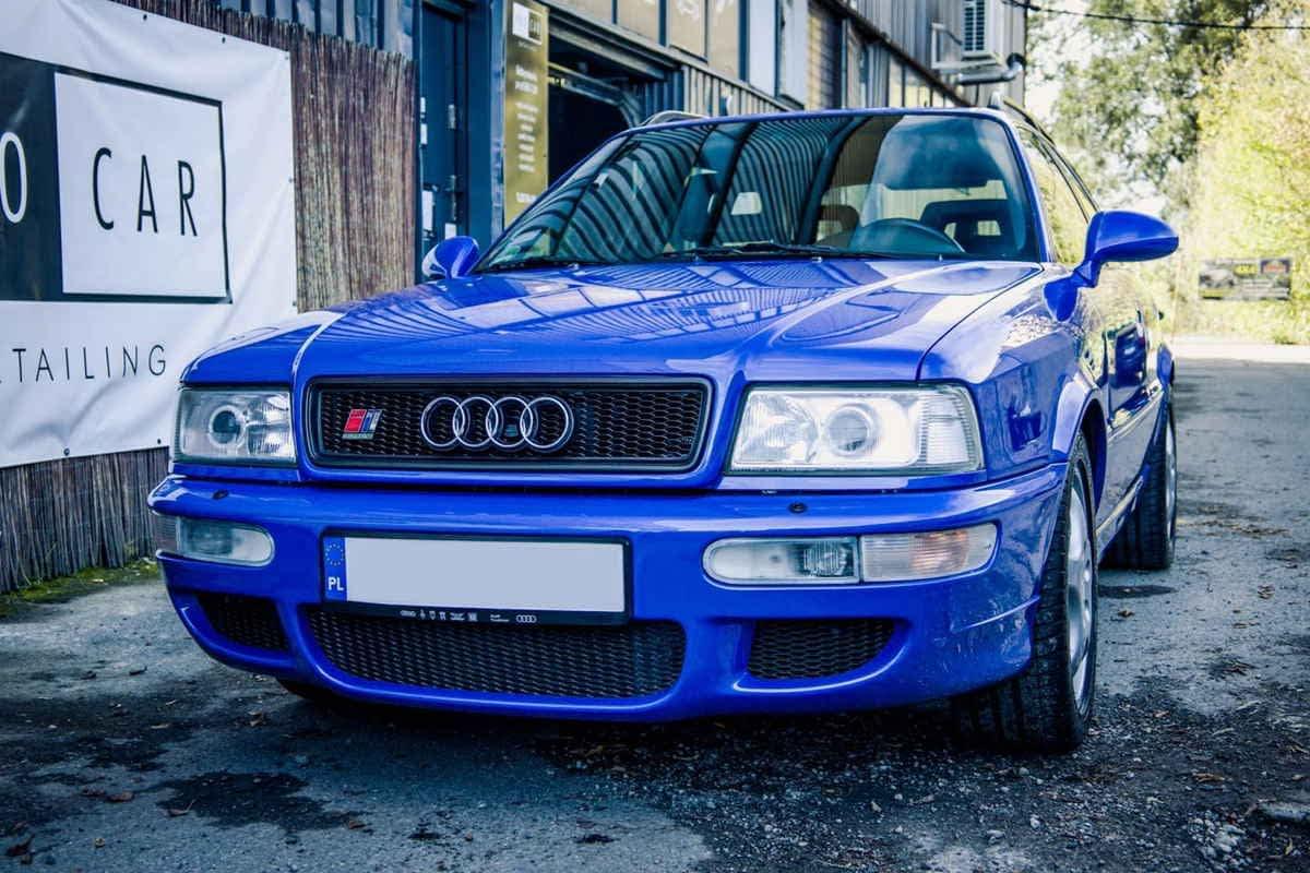 Audi RS2 – mycie detailingowe wraz z odświeżeniem wnętrza 1