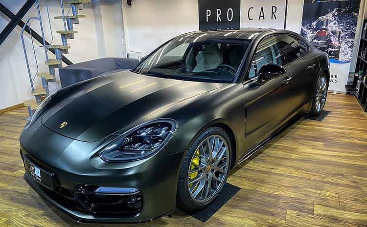 Porsche Panamera GTS – zabezpieczenie całego samochodu