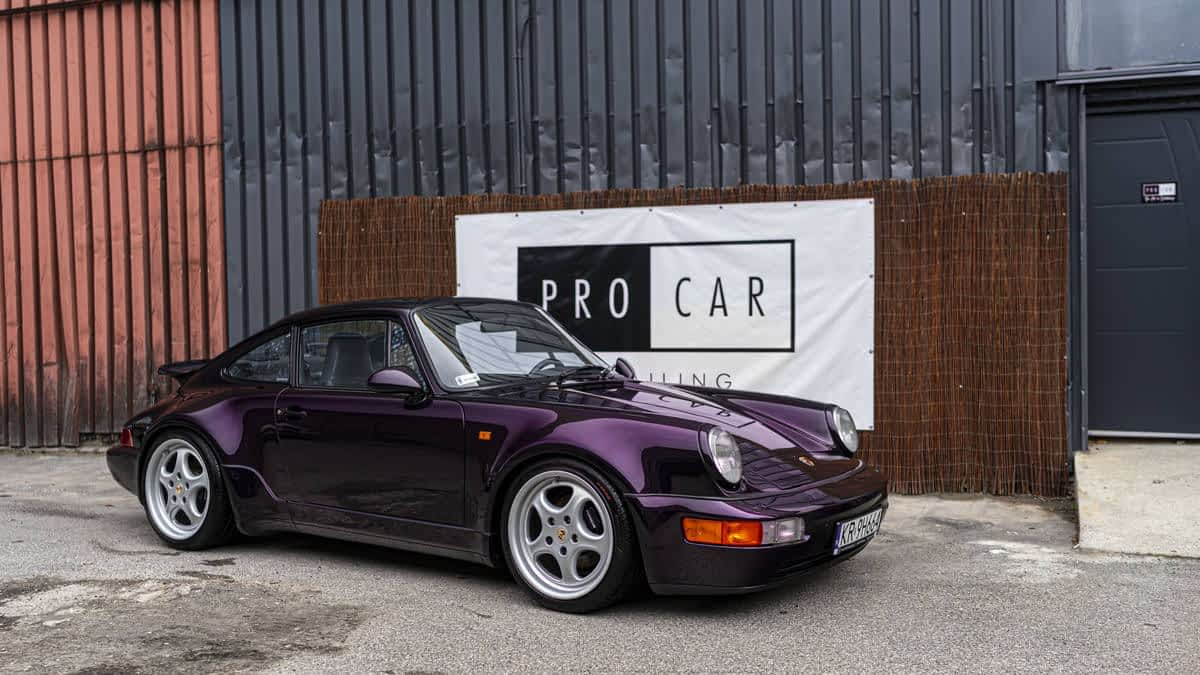 The Art of Detailing - przywracamy legendę do życia - Porsche 911 TURBO 1