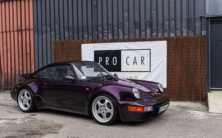The Art of Detailing – przywracamy legendę do życia – Porsche 911 TURBO