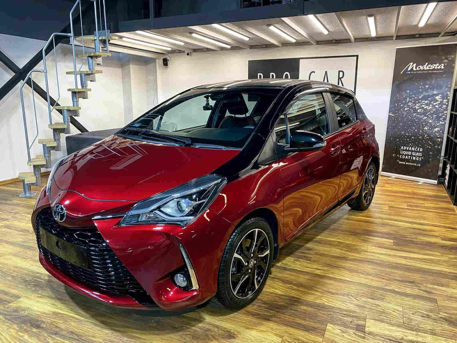 Toyota Yaris - daily car, zabezpieczony przed miejskimi zagrożeniami 1