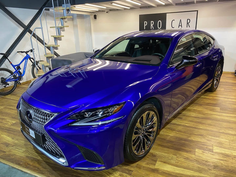Lexus LS500h - powłoka ceramiczna na folię do zmiany koloru 1
