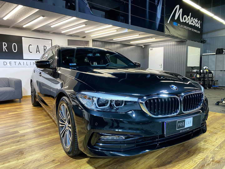 BMW M5 - zdecydowanie ładniejszy po aplikacji naszego pakietu detailingowego 1