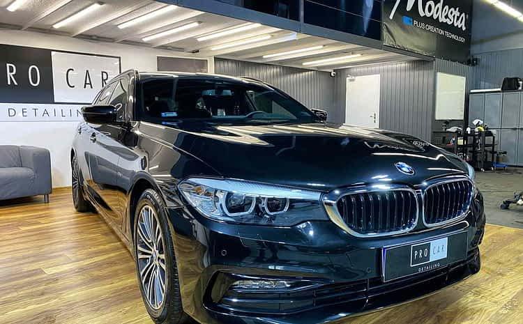BMW M5 – zdecydowanie ładniejszy po aplikacji naszego pakietu detailingowego