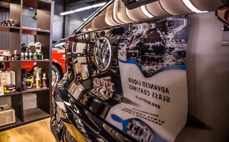 VW Golf GTI – korekta lakieru, zabezpieczenie powłoką ochronną