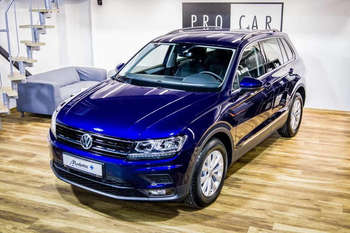 Volkswagen Tiguan - zabezpieczenie premium (powłoka szklana) 1