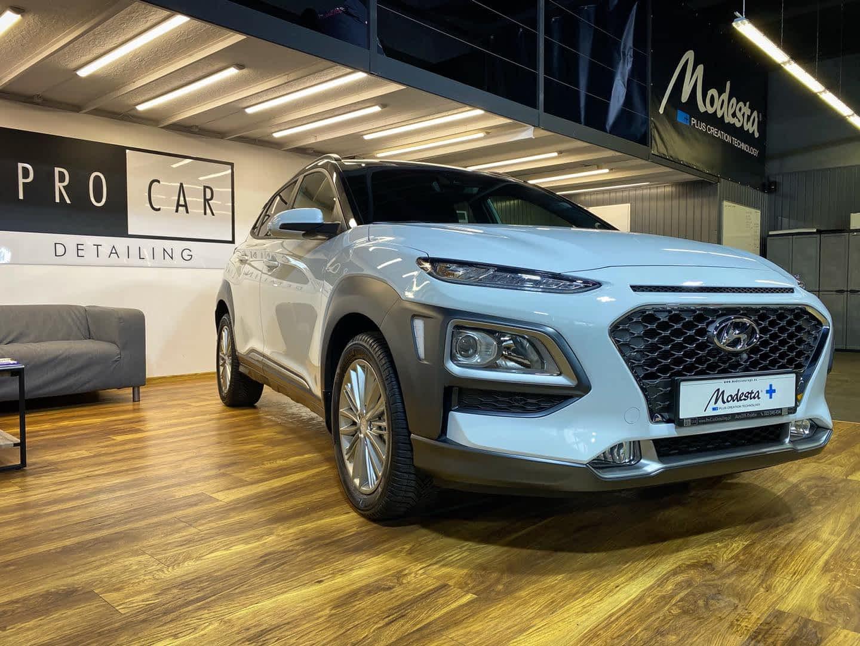 Hyundai Kona prosto z salonu - pełne zabezpieczenie ceramika+PPF 1