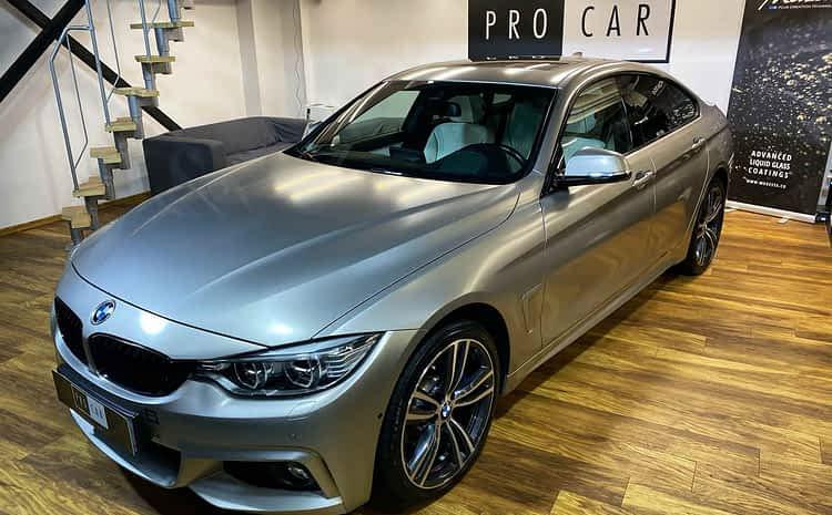 BMW serii 4 – kompleksowe czyszczenie i zabezpieczenie woskiem i powłokami