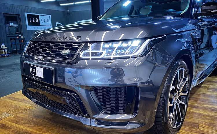 Range Rover Sport Autobiography – przywrócenie stanu salonowego
