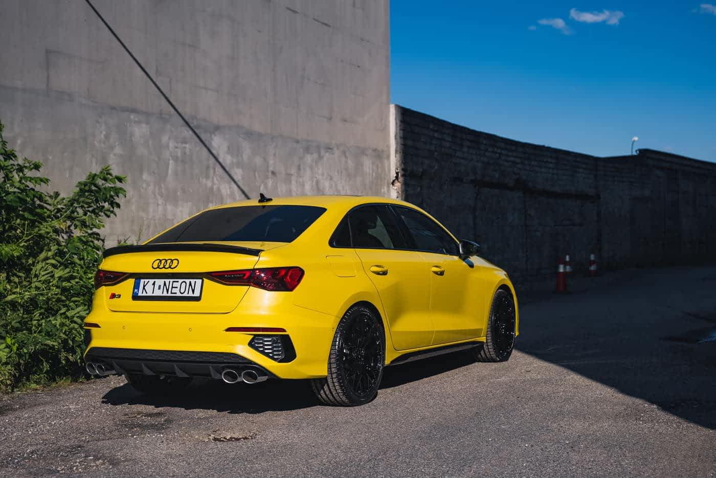 Audi S3 - komplet folii PPF oraz powłoki Modesty 1