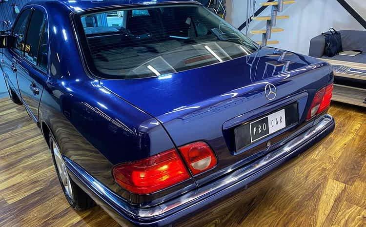 Mercedes Klasa E W210 – onestep oraz gruntowne czyszczenie wnętrza