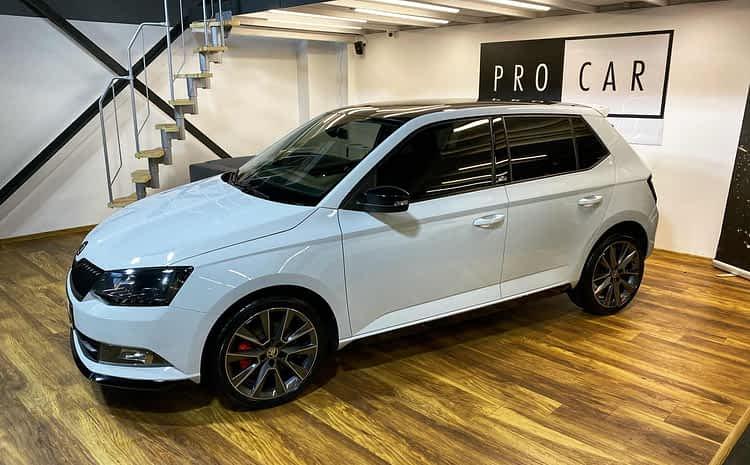 Škoda Fabia Monte Carlo – świeży zakup,  jednak wymagał wielu godzin korekty lakieru
