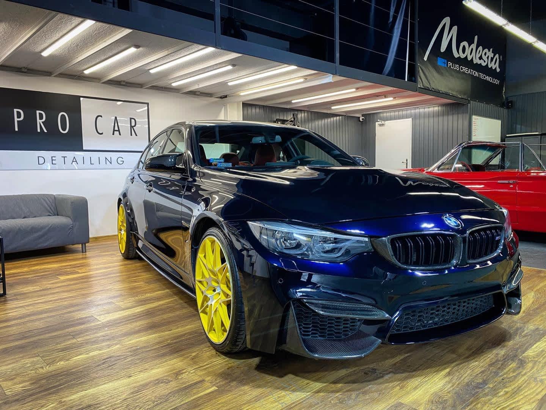 BMW M3 - pełny detailing wnętrza oraz korekta lakieru Level 1 1