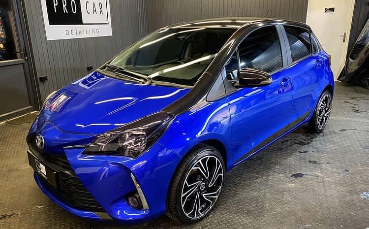 """Toyota Yaris – kolejny miejski samochód upiększony naszym pakietem """"Wiosna PRO"""""""