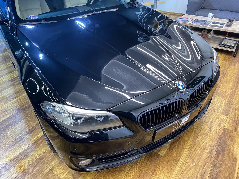 BMW 520d - dwuetapowa korekta lakieru 1
