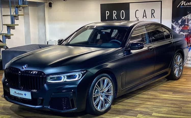 Nowe BMW serii 7 Individual – profesjonalne zabezpieczenie i korekta lakieru