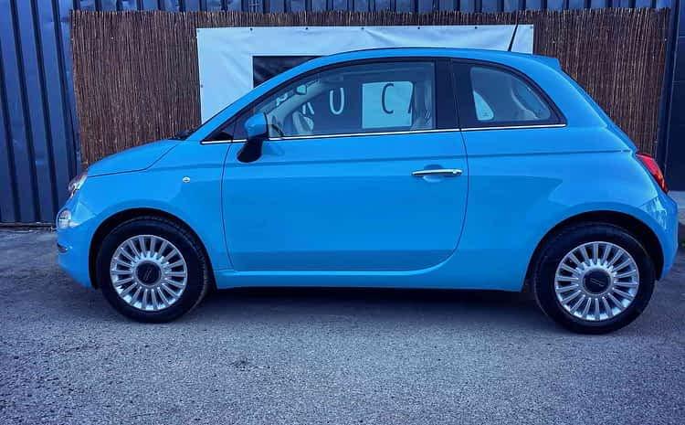 Fiat 500 – odpicowany Smurf – wleciał jeden z pakietów detailingowych