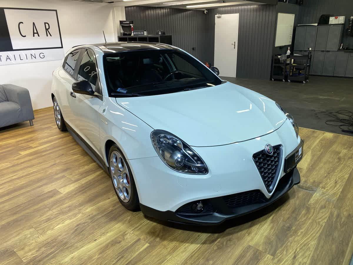 Alfa Romeo Giulietta Quadrifoglio - serwis powłoki ceramicznej 1