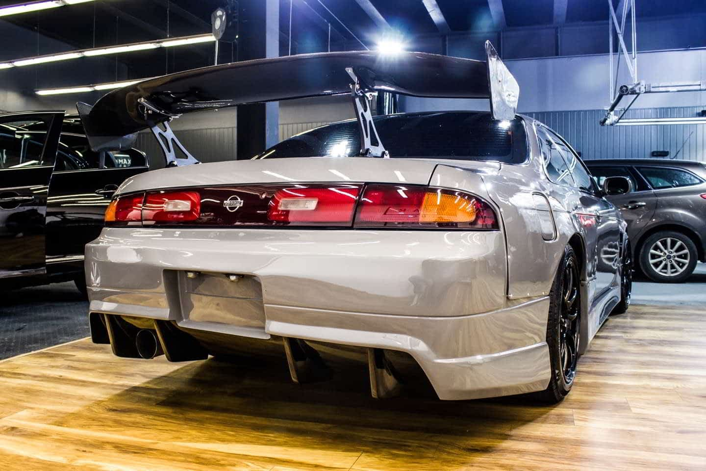 Nissan Silvia S14 - uliczny wojownik prosto z Need For Speed 1