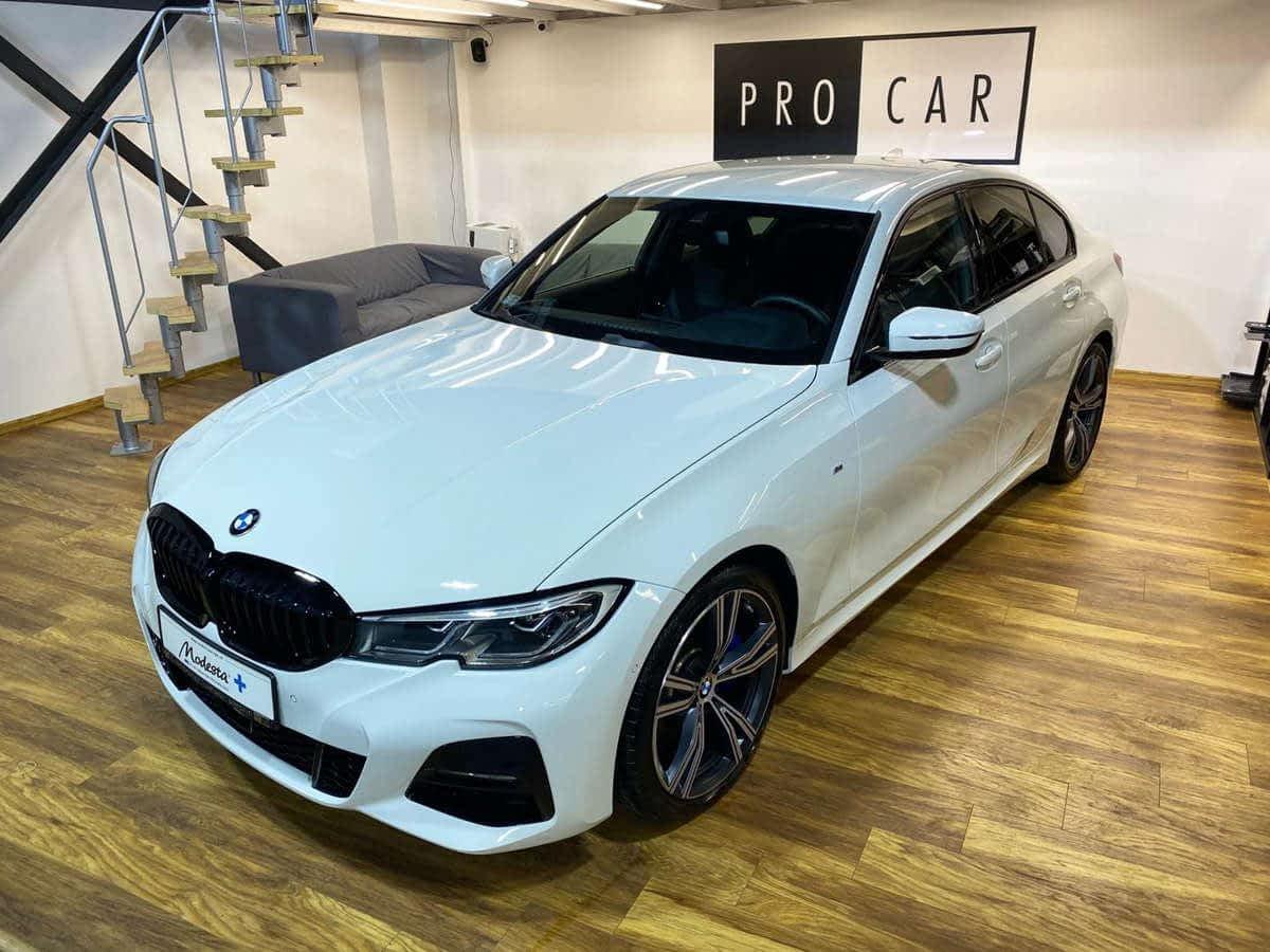 BMW 330i – korekta lakieru i aplikacja powłoki ceramicznej 1